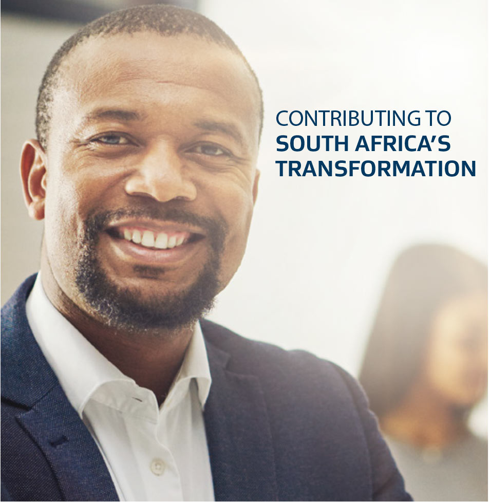 Contributing to South Africa's transformation